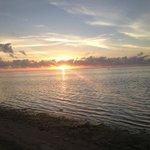 Sunset at Tamanu Beach