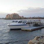 Yatch near Lakes Resort Hotel