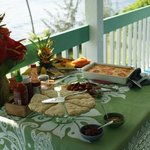 Beautifully presented breakfasts