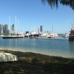 Boating and day cruises are plentiful at Marina Mirage, 5 minutes away - Tony Scott