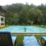Pool by the foot of Rumassala Mountain