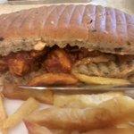 chicken barbeque sandwich