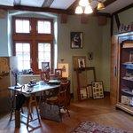 Arbeitszimmer im Museum Hansi