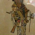 Spöttische Darstellung der ehemals deutschen Besatzer im Elsass