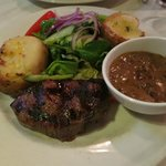 Eye Fillet Steak with Mushroom Sauce - Delicious!