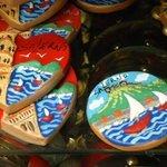 Piccoli oggetti souvenir.