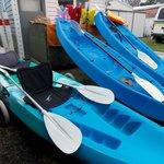 Enjoy some kayak fun in the local waters