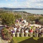 Overlooking Lake Trasimeno