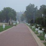 park walk way
