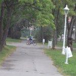 park walk ways