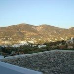 Η θέα από το μπαλκόνι
