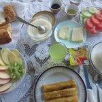 グルジアの朝食
