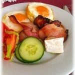 in the restaurant - breakfast