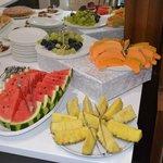 Obst- und Nachspeisenbuffet