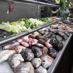 Wide variety of seafood