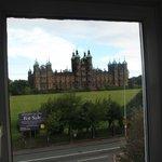Vistas desde la ventana del ático