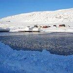Cold day at Kongsfjord