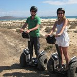 Segwaying at the Beach!
