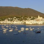 The view of Cadaques from our balcony