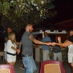 Dancing on Greek night