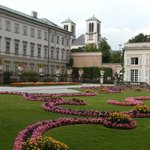 Right next store to hotel is the AMAZING Mirabell Gardens
