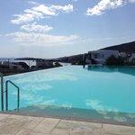 infinity salt water pool