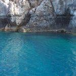 l'eau bleu truquoise