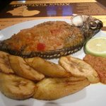 FISH AND PLANTAIN