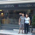 Nick and Aston Residence Staff