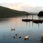Lake Windermere (round the corner from the Guesthouse)