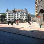 il centro di Oviedo.