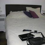 2nd floor bedroom 'double' bed (more like queen)