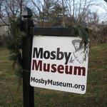 Sign for Mosby Museum