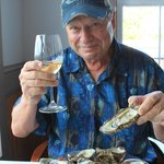 The local fresh oysters were mouth-watering and fresh-tasting!