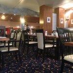 Restaurant in the Morning