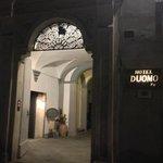 Hotel Duomo Entrance, Siena, Italy