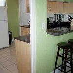 unit 705 - counter/kitchen