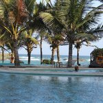 View from the resort - Swimming Pool & the Beach