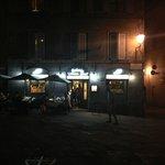 Entrance of Nonna Gina, Siena, Italy