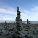 Rock Spires on the Beach