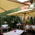 Dining at Molino D'Era, Volterra, Italy