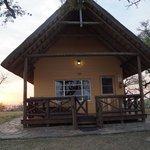 Blick auf Cottage 7