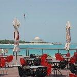 Corniche Beach area/10 mins away