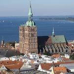 Aussicht vom Turm, Sicht bis zur Insel Hiddensee