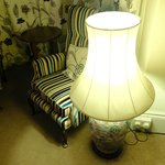 Plush furnishing in the Luxury Rooms