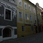 A view from Panska street