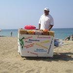 beach vender