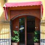 Villa Flora entrance