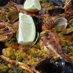 Most tasty seafood paella ever