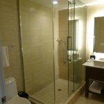 Hotel Room Shower Bathroom